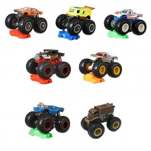 HOTWHEELS MONSTER TRUCKS ASS
