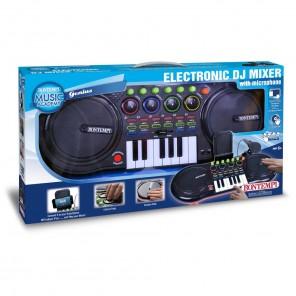 DJ MIXER CON MICROFONO
