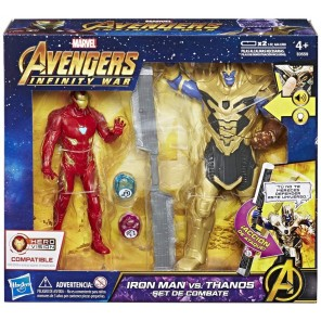 AVENGERS SET  IRON MAN VS THANOS