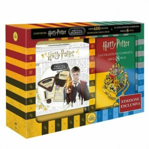 TRIVIAL HARRY POTTER + SAGA COMPLETA DVD