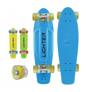SKATEBOARD LIGHTER C/RUOTE LUMINOSE