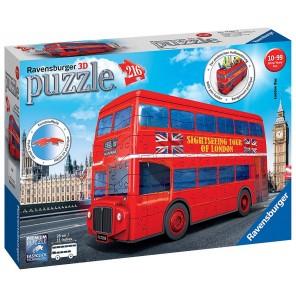 Puzzle 3d Bus di londra