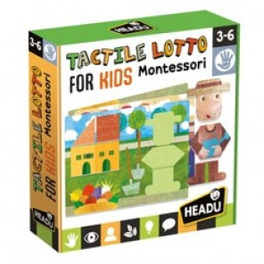 MONTESSORI TACTILE LOTTO FOR KIDS