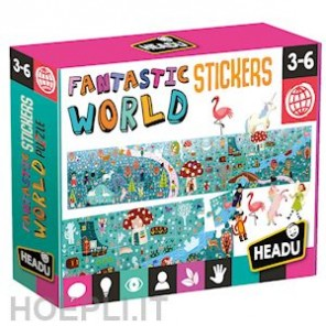 FANTASTIC WORLD & STICKERS