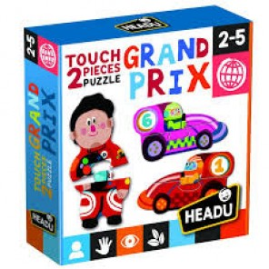 TOUCH 2 PIECE PUZZLES GRAND PRIX