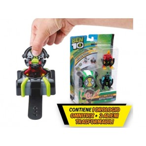 BEN10 OMNI-LAUNCH + 2 PERSONAGGI ASSORT