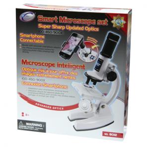 MICROSCOPIO CON CONNESSIONE SMARTPHONE