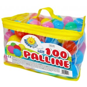 SACCA 100 PALLINE COLORATE
