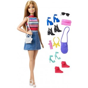 BARBIE BAMBOLA E ACCESSORI