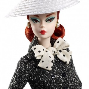 BARBIE COLLECTION BLACK AND WHITE TWEED