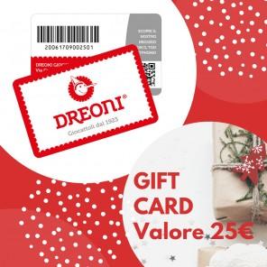 GIFT CARD DREONI