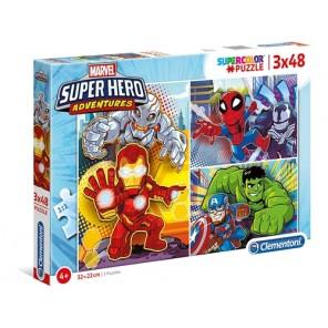 3X48 PZ SUPER HEROES