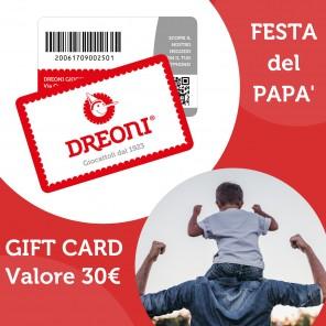 GIFT CARD FESTA DEL PAPÀ
