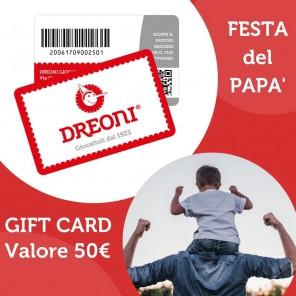 GIFT CARD DREONI DA 50€