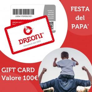 GIFT CARD DREONI  DA 100€
