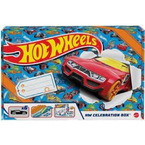 celebrating box hot wheels